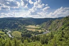 Les Gorges de l'Allier au Pays de Lafayette