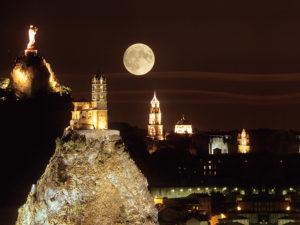 Le Puy-en-Velay, Patrimoine mondial de l'UNESCO, Capitale européenne du Saint-Jacques-de-Compostelle, Pays du Velay, Haute-Loire, Auvergne