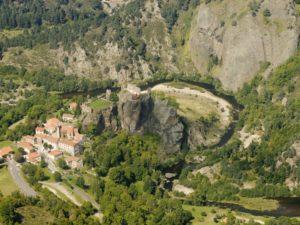 Arlempdes, plus beaux villages de France, sud de la Haute-Loire, Auvergne