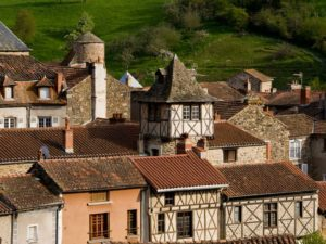 Blesle, plus beaux villages de France, Haute-Loire, Auvergne