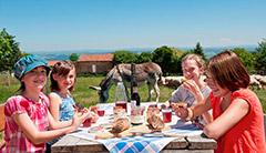 Goûter à la ferme - Marie-Dominique Breuil à Bas-en-Basset, où manger en Haute-Loire, Auvergne