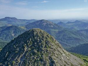 Le Mont Gerbier de Jonc, Source de La Loire, Pays du Velay, Haute-Loire, Auvergne
