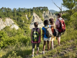 Randonnée au Ravin de Corboeuf près de Rosières, Pays du Velay, Haute-Loire, Auvergne