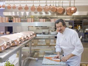 Restaurant le Haut-Allier - Philippe Brun 1 étoile à Alleyras, restaurant gastronomique, chefs étoilés, où manger, Haute-Loire, Auvergne