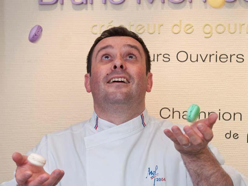 Bruno Montcoudiol à Monistrol-sur-Loire, Pâtisserie Bruno Montcoudiol, Toques et MOF, le Bon et le Bien-manger, Pays de la Jeune Loire, Haute-Loire, Auvergne