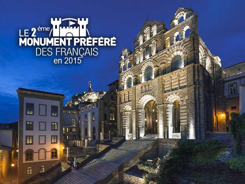 Cathédrale Notre-Dame du Puy-en-Velay, monument classé par l'UNESCO, Haute-Loire, Auvergne