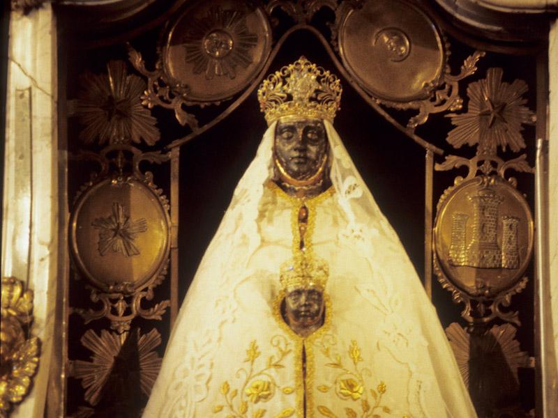 La Vierge Noire de la cathédrale du Puy-en-Velay, Haute-Loire, Auvergne