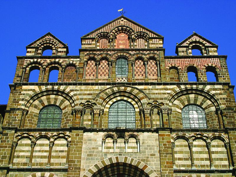 Cathédrale Notre-Dame du Puy-en-Velay, 2ème monument préféré des Français, Haute-Loire, Auvergne