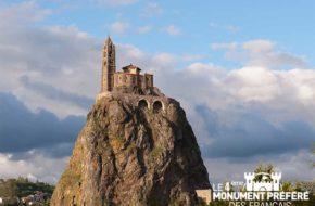Chapelle Saint-Michel-d'Aiguilhe au Puy-en-Velay, 4ème monument préféré des Français, Haute-Loire, Auvergne