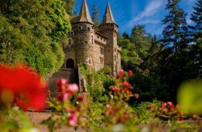 Château de la Rochelambert, St Paulien, patrimoine historique et culturel, Haute-Loire, Auvergne
