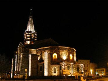 Collégiale St Georges de Saint-Paulien, Edifice religieux, Pays du Velay, Haute-Loire, Auvergne