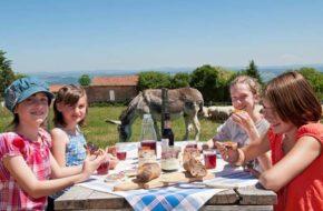 """""""Bienvenue à la Ferme"""", le Bon et le Bien-manger, Pays de la Jeune Loire, Haute-Loire, Auvergne"""