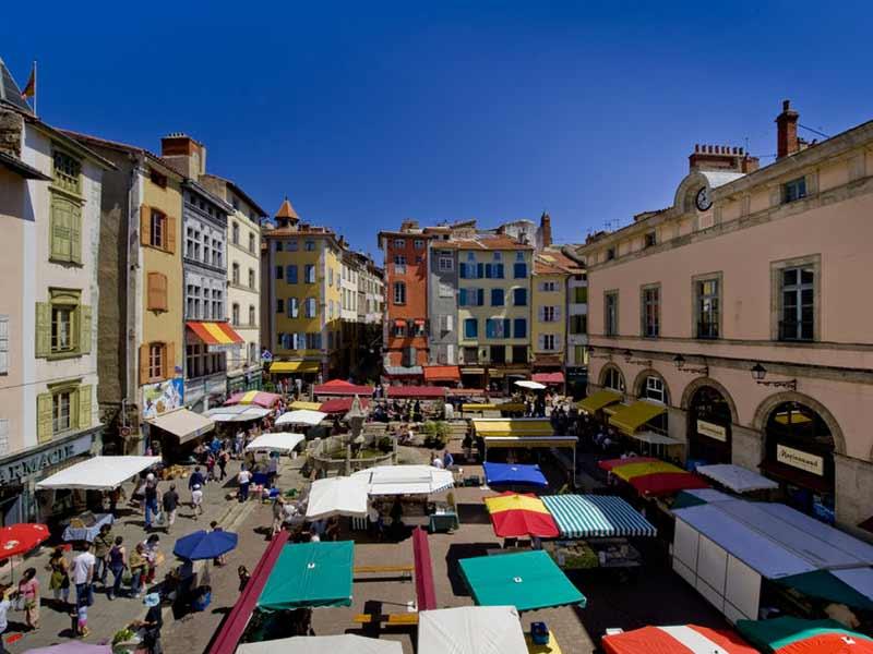 Foires et marchés en Haute-Loire, Produits locaux, Auvergne
