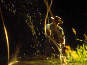 Pêche dans les Gorges de l'Allier au Pays de Lafayette, Haute-Loire, Auvergne