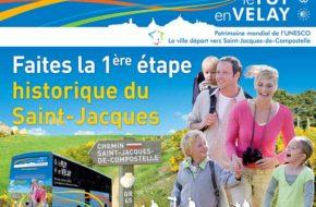 Pélérin d'un jour, GR65 Saint Jacques de Compostelle, Loisirs de pleine nature, Pays du Velay, Haute-Loire, Auvergne