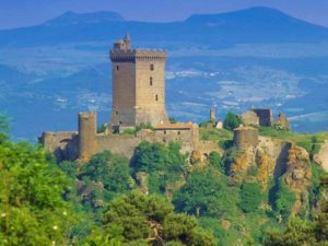Vestiges de la forteresse de Polignac, Haute-Loire, Auvergne