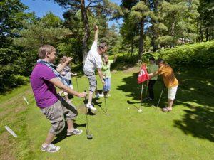 Putting-golf de Tence, Loisirs de pleine nature, Pays de la Jeune Loire, Haute-Loire, Auvergne