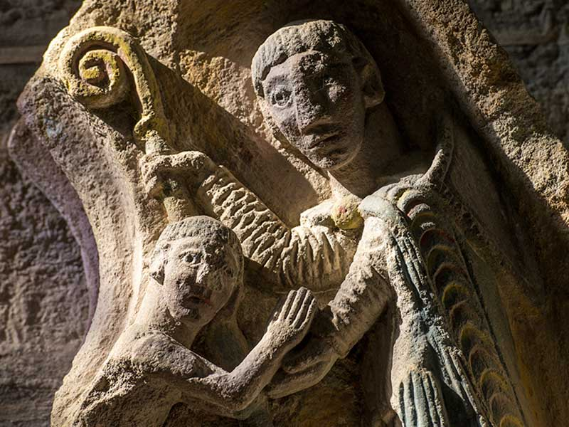 Eglises romanes, Edifice religieux, Pays du Velay, Haute-Loire, Auvergne