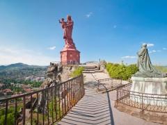 Statue Notre-Dame de France au Puy-en-Velay