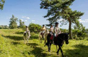 Equitation, Loisirs de pleine nature, Pays du Velay, Haute-Loire, Auvergne