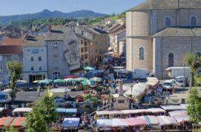 Marché de produits locaux d'Yssingeaux, faire son marché au Pays de la Jeune Loire, le Bon et le Bien-manger, Haute-Loire, Auvergne