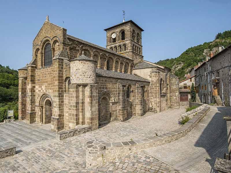 Abbayes et prieurés, Idées de visites, Haute-Loire, Auvergne