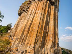 Colonnes basaltiques ou Orgues de Chilhac, Haute-Loire, Auvergne