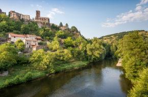 Village de caractère de Chilhac, Haute-Loire, Auvergne