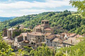 Village de caractère d'Auzon, Haute-Loire, Auvergne