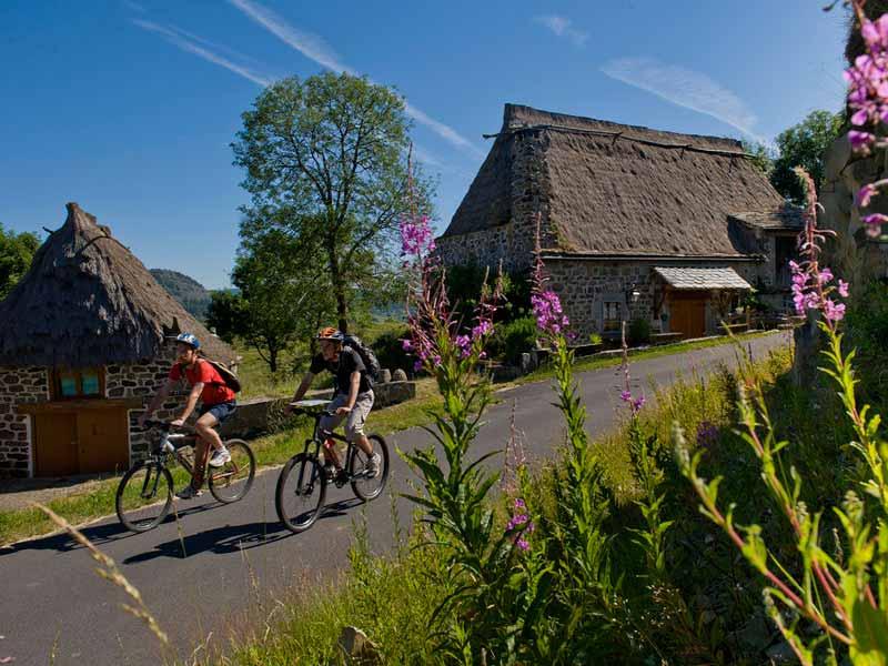 Ecomusée chaumières de Bigorres, Pays du Velay, Haute-Loire, Auvergne