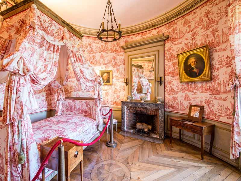 Chambre du château de Chavaniac-Lafayette