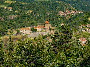 Village de Chanteuges et son prieuré, Haute-Loire, Auvergne