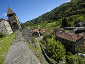 Chanteuges village remarquable du Haut-Allier, Haute-Loire, Auvergne