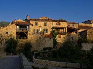 Village de Lavaudieu, Haute-Loire, Auvergne