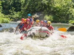 Rafting - Hot dog