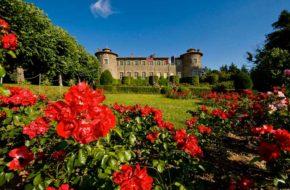 Châteaux de Chavaniac-Lafayette, protégé aux titres des Monuments Historiques, Haute-Loire, Auvergne