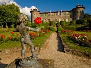 Châteaux et jardin de Chavaniac-Lafayette, Haute-Loire, Auvergne