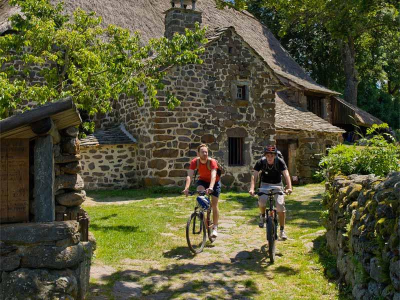 Ferme des Frères Perrel, musée sur l'histoire paysanne, Moudeyres, Pays du Velay, Haute-Loire, Auvergne