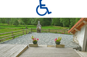 Gite Le Jucadour à Allègre adapté handicap moteur
