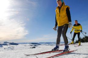 Bouger, sports d'hiver, Ski de fond en Haute-Loire, Auvergne