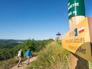 Bouger, A pied, Grandes randonnées, GR65 - St Jacques de Compostelle, Haute-Loire, Auvergne