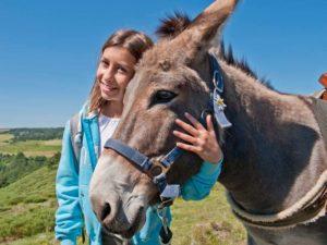 Bouger, A pied, Grandes randonnées avec un âne à travers les Cévennes, GR70 - Chemin de Stevenson, Haute-Loire, Auvergne