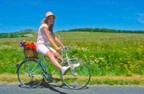 Balade à vélo en Haute-Loire