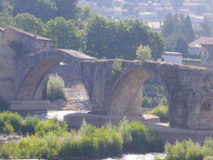 Le Vieux pont, Brives Charensac, villes et villages fleuris, Haute-Loire, Auvergne