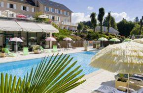 Hôtel Bel Horizon au Chambon-sur-Lignon, villes et villages fleuris, Haute-Loire, Auvergne