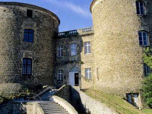 Château de Monistrol-sur-Loire, villes et villages fleuris, Haute-Loire, Auvergne