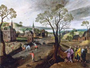 Tableau de Grimmer - Eglise de Montfaucon 2