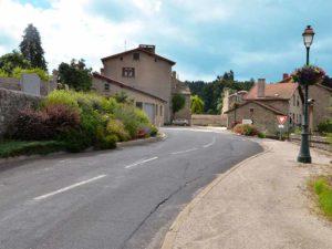 Saint-Romain-Lachalm, villes et villages fleuris, Haute-Loire, Auvergne