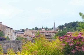 La Séauve sur Semène - 1 fleur, villes et villages fleuris, Haute-Loire, Auvergne