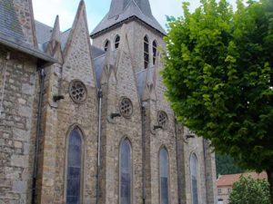 Abbaye de la Séauve sur Semène, villes et villages fleuris, Haute-Loire, Auvergne